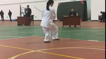 江西省太极拳培训中心廖华美教练2018年上饶国际论剑武当剑比赛荣获第一名