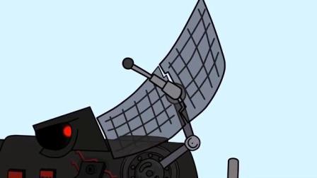 坦克世界搞笑动画-糟糕雷达飞碟的雷达被打坏了