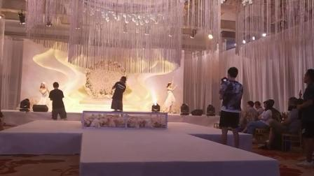 M7婚礼双人舞《以你为名的世界》演出现场