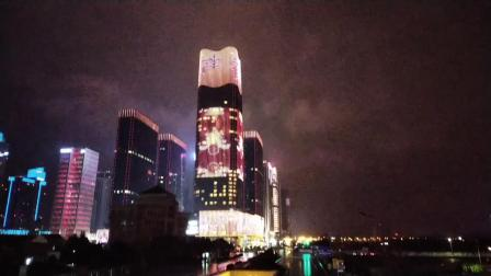 义乌商贸城夜景手机拍拍
