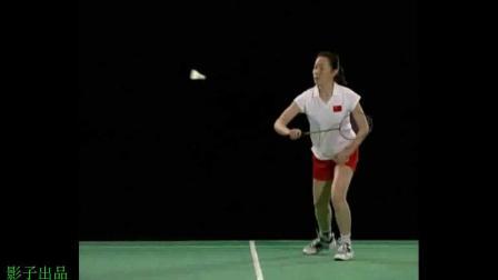 影子羽毛球高清慢动作精选(四十)肖杰教科书式动作示范右手版