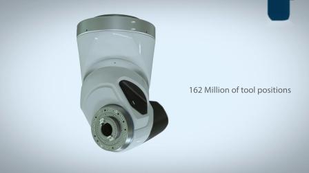 UDX 新型高速机械式微分度强力铣头 —— 恒转速高达一万转