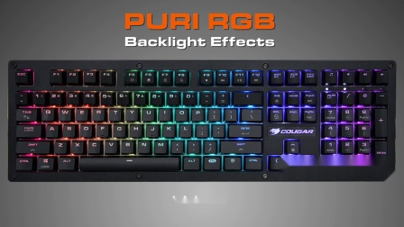 COUGAR PURI RGB - Backlight Effects