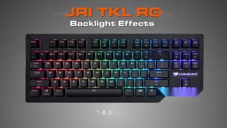 COUGAR PURI TKL RGB - Backlight Effects