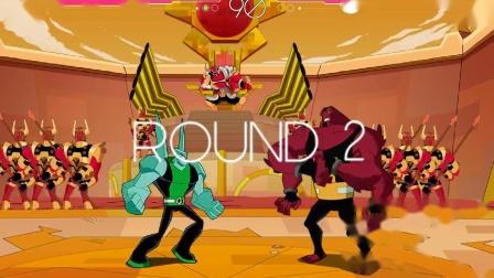 【小兔子】星际沙场PK 少年骇客Ben10对战未知力量~外星英雄游戏
