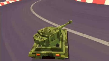 拇指漂移-坦克的手感还是不错的