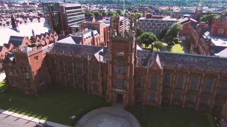 我是你的眼 | 上帝视角看英国女王大学主楼