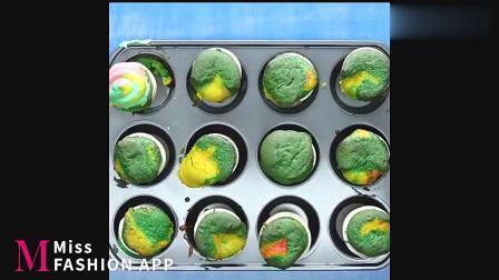 糕点艺术:10分钟学会彩虹蛋糕制作技巧