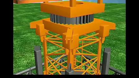介绍塔式起重机,塔机升高步骤—塔吊人才网转播 标清