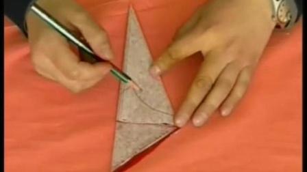 DIY剪纸教程-八折团花剪法 剪纸图案大全