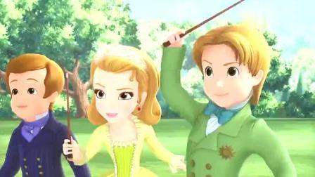 小公主苏菲亚:坏学生搞恶作剧,学校里都是泡泡,感觉还挺好玩的