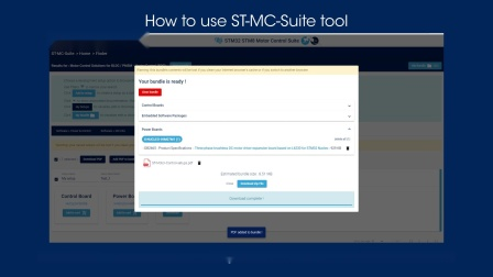 ST推出电机在线开发工具,简化STM32和STM8电机控制设计
