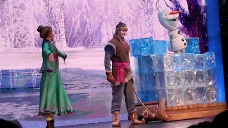 上海迪士尼乐园歌剧冰雪奇缘