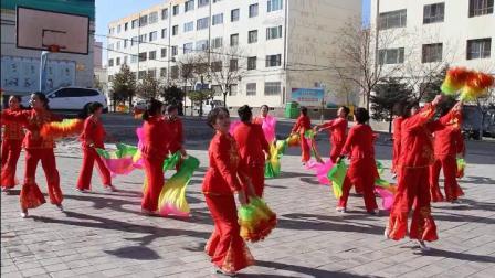 嘉峪关市昌盛街区2019年春节联欢演出——《欢乐秧歌》
