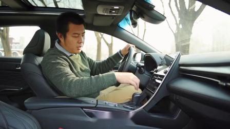 中型车新选择静态体验国产亚洲龙