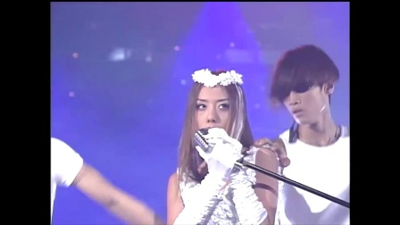 BB - 悲恋(19960807 KBS歌谣TOP10)这服装未必也……