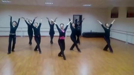 形体舞《晚》中老年舞蹈