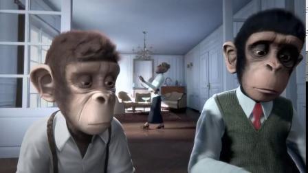 CGI 3D 动画微电影:猴子交响乐 (故事生动感人)