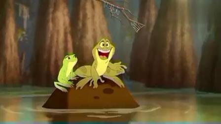 公主与青蛙:青蛙王子与鳄鱼欢快合奏,还坦言自己想变成人类!