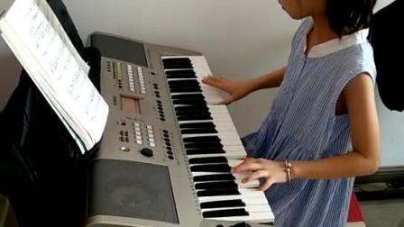 电子琴乐曲《蓝猫淘气三千问》临渭区天籁艺术
