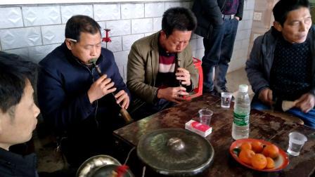贵州省石阡县河坝镇农村传统文化唢呐