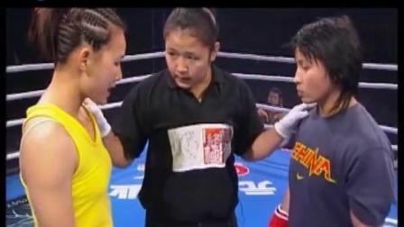 闫晓楠 中国UFC女子第一人闫晓楠 早期碰到打法凶狠的刘夏 战况会如何