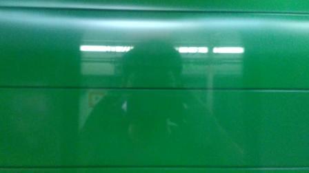 广州地铁2号线夜间专车东晓南不停站通过 下站 昌岗 嘉禾望岗方向 a4贴窗拍摄