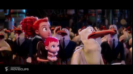 3D英语原版微电影: 《鹳》- 我想要个小弟弟 🙇 - 百万婴儿大场景 (欣赏高品质3D动画电影,练习英语听力!)