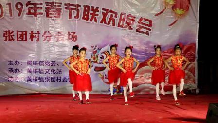 广西贵港市黄练镇2019春节联欢会张团村分会场