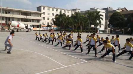 《走和跑:快速跑》科学版四年级体育,河池市县级优课