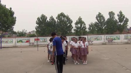 《足球游戲:運球接力》科學版體育六年級,淮北市縣級優課