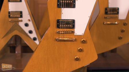 Gibson CS 1958 Korina Explorer Cut 2