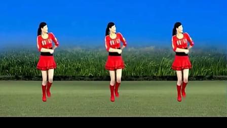 广场舞《东方红》跳起来,步伐简单,好听好看好学!