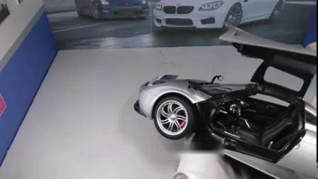 1/18 Autoart 奥拓 帕加尼风神PAGANI Huayra 银色 汽车模型