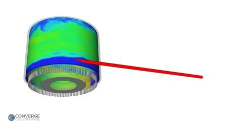 阿贡国家实验室使用CONVERGE进行旋转爆轰发动机的模拟视频