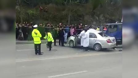 男子双实线掉头被货车撞击 副驾驶一名女性不幸去世