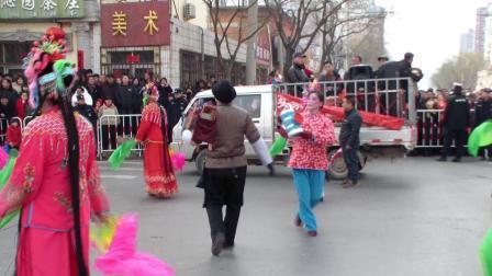 秧歌版红灯记  薛立志夫妇表演