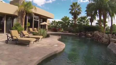 别墅山庄庭院游泳池设计,池润桑拿设备有限公司,花园别墅泳池设备,室外混凝土游泳池