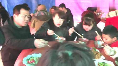 陕西蓝田白鹿原农村流水席:早餐吃红豆米饭,你们那里吃啥