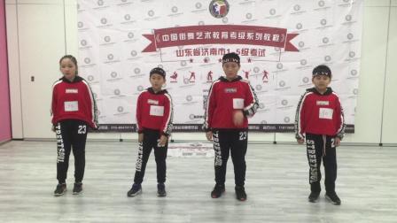 2019年2月18日济南甜心舞蹈工作室之街舞考级三级元素考察