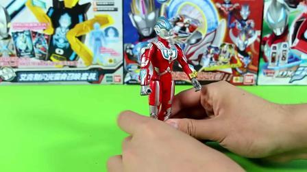 银河奥特曼全武装与雷德王怪兽玩具