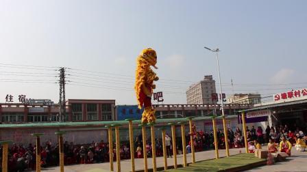2019年2月12日松岗村委会中联表演 高桩狮 MVI_5223
