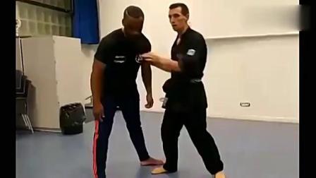 国外武术高手展示真正的格斗技巧,讲究一招秒杀对手