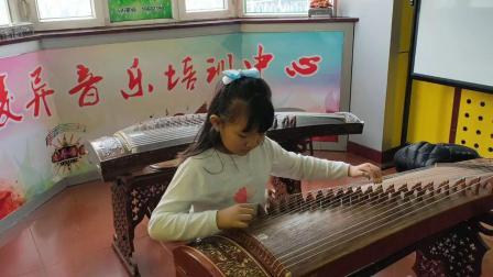 凌异音乐工作室 张博雅同学古筝成品曲展示完整