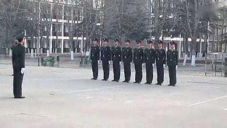 我在中国人民解放军  陆军   队列训练截了一段小视频