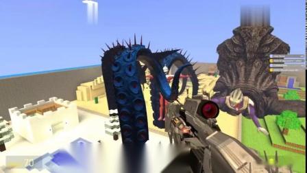GMOD-迪迦奥特曼能从章鱼怪兽嘴里逃出来吗
