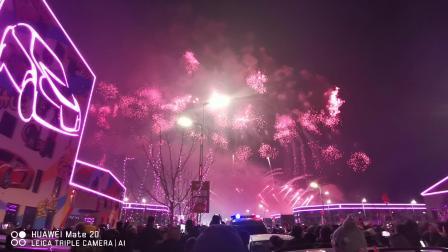 大慶北二路汽車城元正月十五煙花