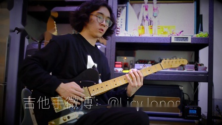 PFCD Gilmour Gold Tele HH Overdrive过载段落