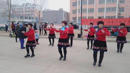 济南市莱芜区大王庄滨河家园2019贺岁广场舞《好运送给你》