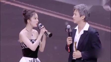 """微博之夜邓超和杨幂成为""""大赢家"""",马云""""爸爸""""在台下笑开花"""